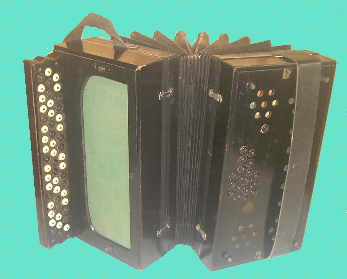 The building of a slide tonic Harmonika